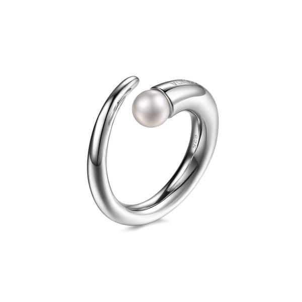 Anello PIANEGONDA collezione CUSPIS in argento 925/1000 con perle naturale