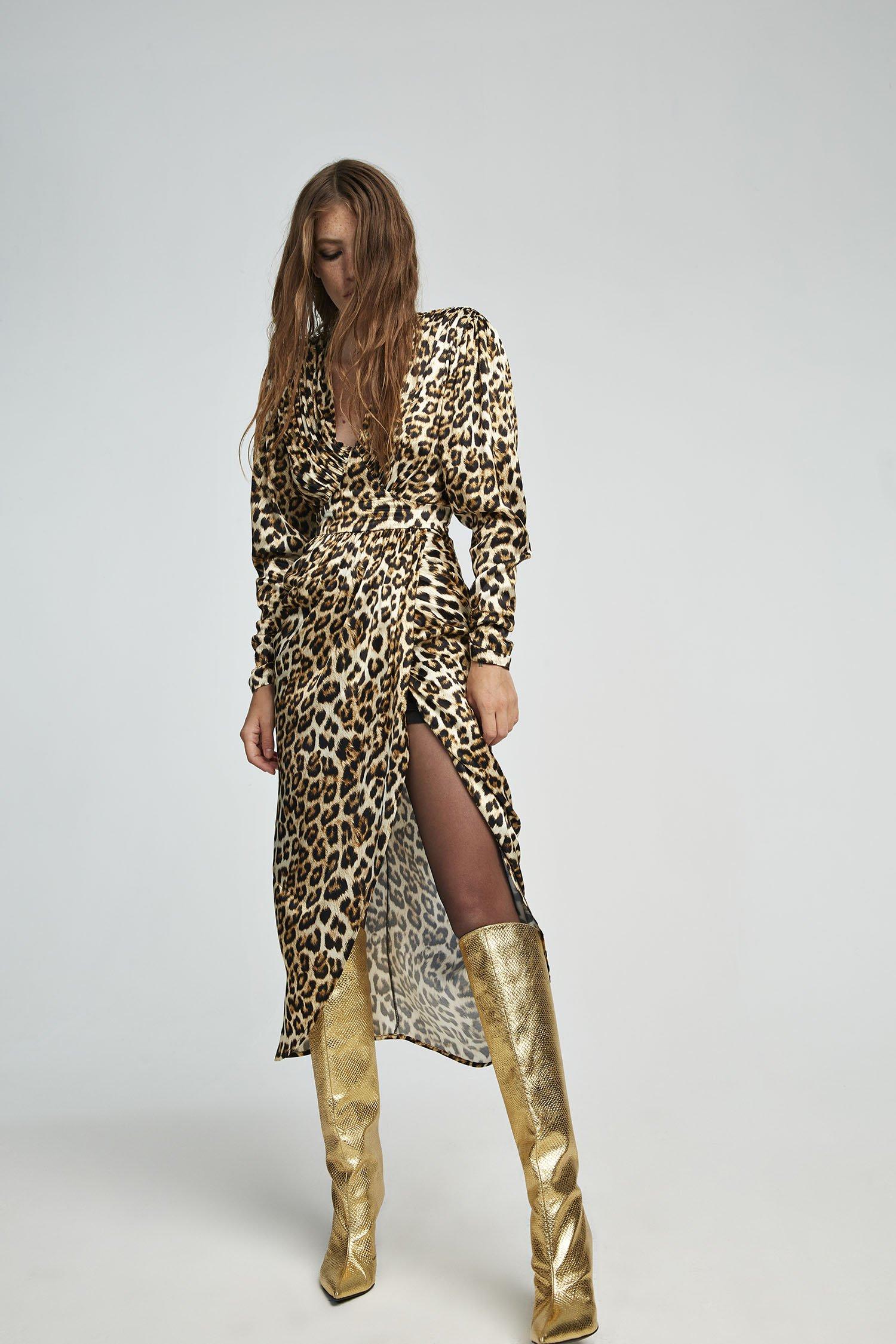 Abito leopardato Aniye By