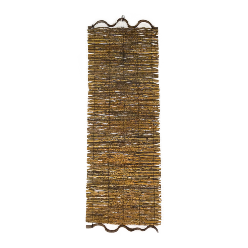Tenda tutto Legno, bordo ondulato 35 x 100 cm