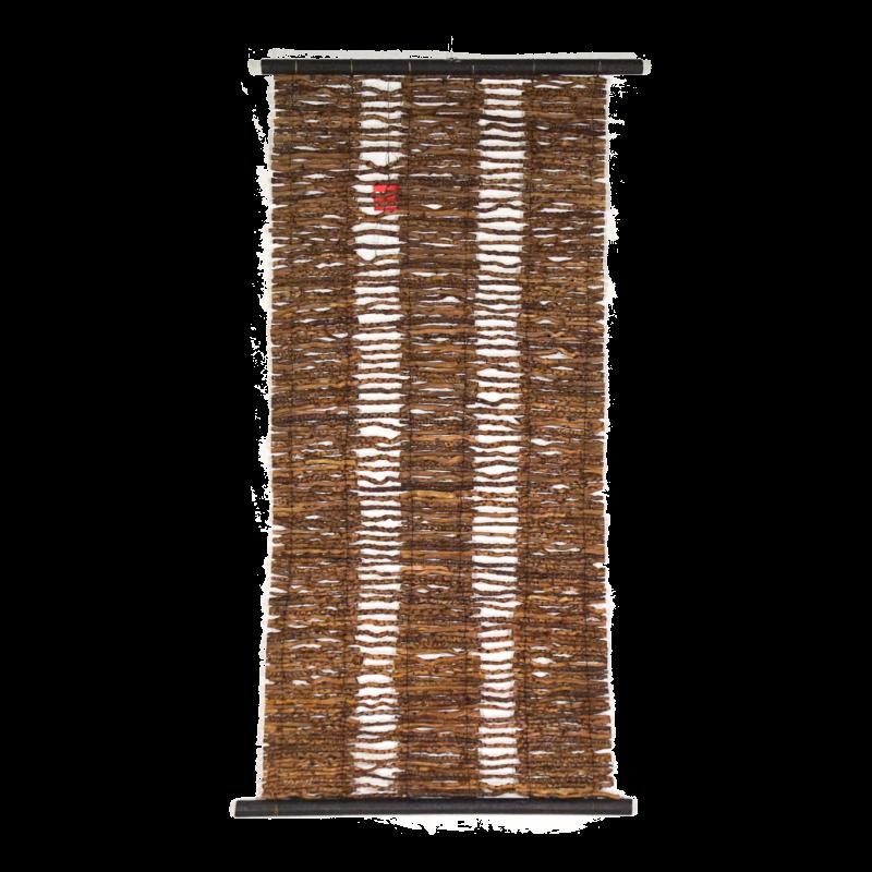 Tenda tutto Legno, bordo Rigato  35 x 100 cm