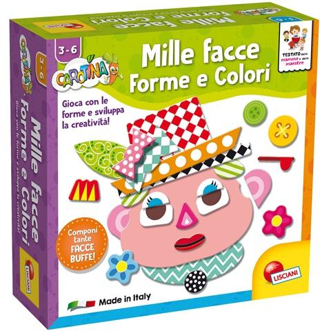 Mille Facce, Forme e Colori - Tausend Gesichter, Formen und Farben