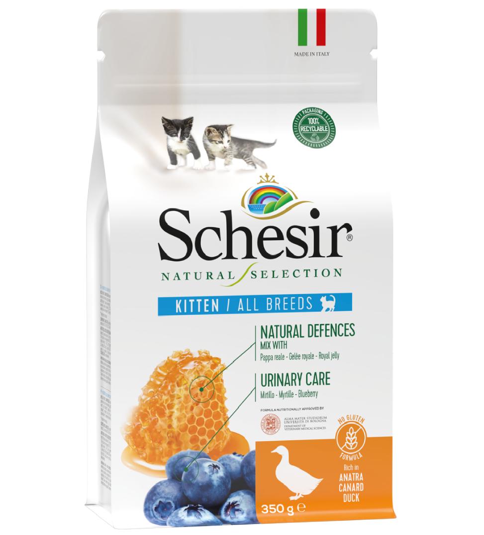 Schesir Cat - Natural Selection - Kitten - Anatra - 350g