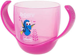 BICCHIERE FINDING DORY ROSA 18M+
