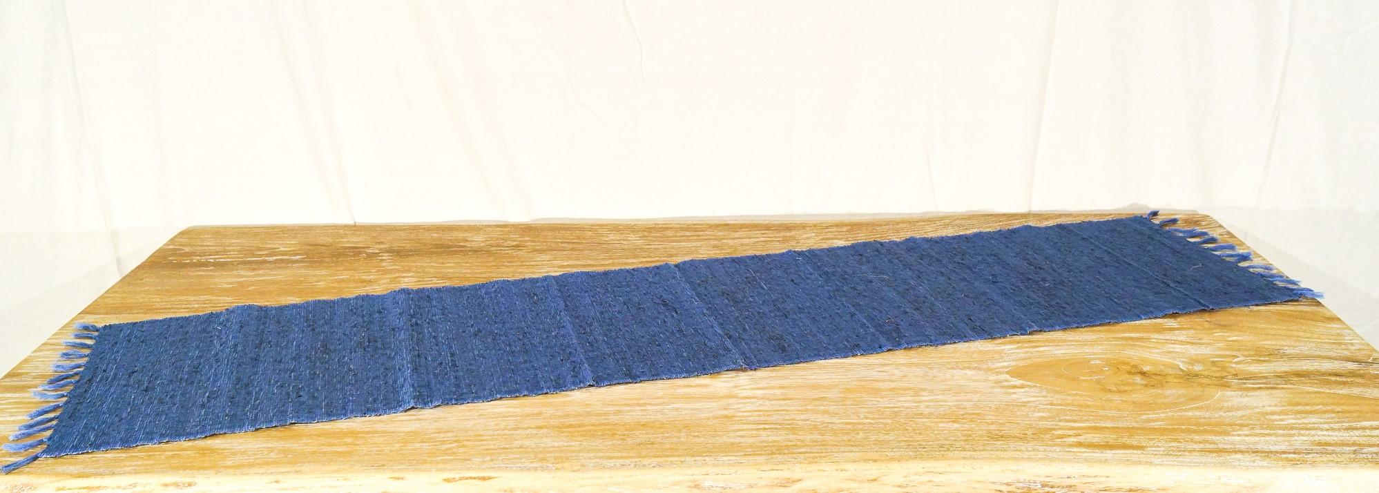 Stuoia Azzurra + frangipani  35 x 150 cm
