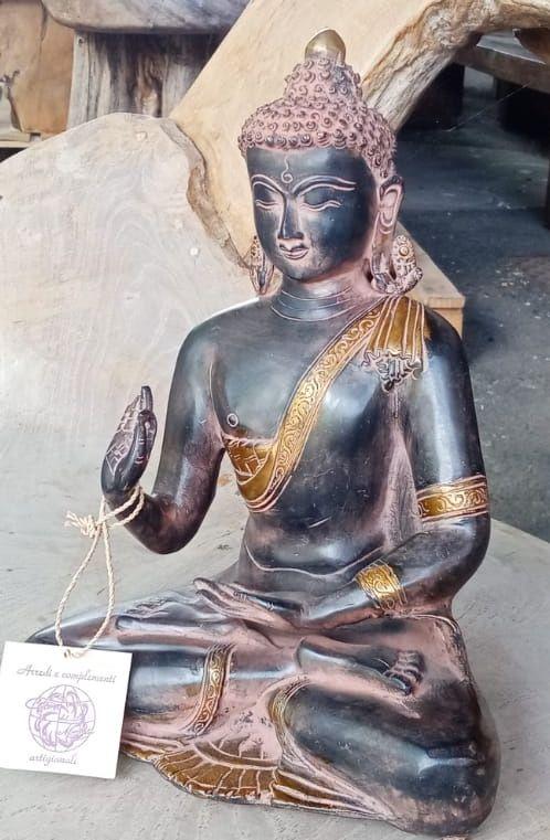 Statua in brass Buddha