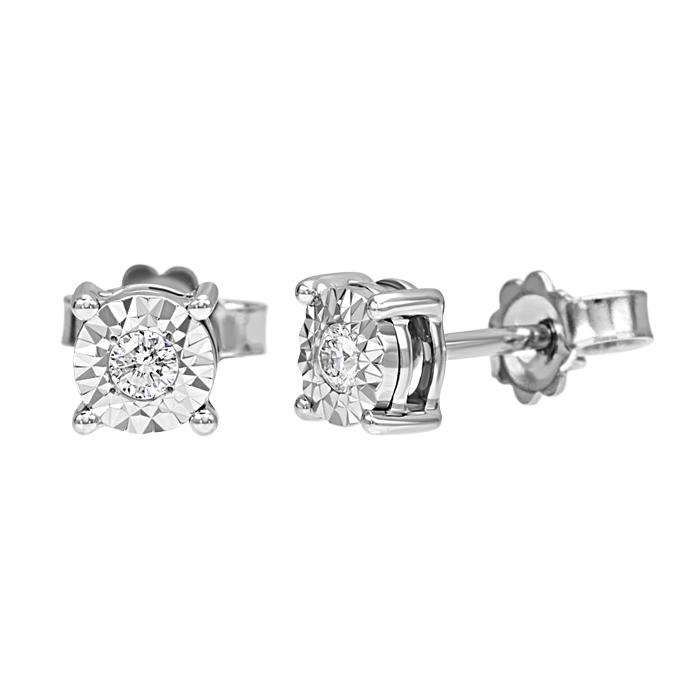 orecchini Bliss in oro e diamanti