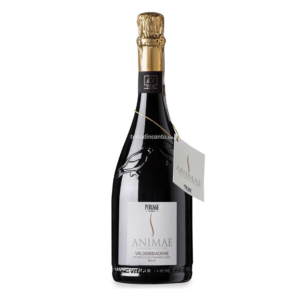 Vino bianco valdobbiadene prosecco superiore docg brut animae senza solfiti aggiunti Perlage