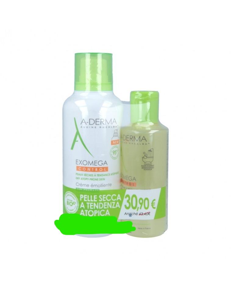 A-derma Exomega Control PROMO Crema 400 ml + Olio 200 ml