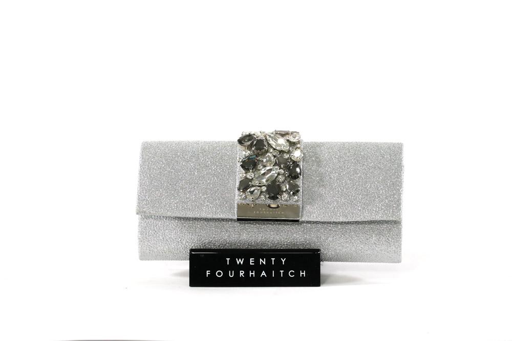 TWenty Fourhaitch-Pochette Donna Florida/Arg. Glitter