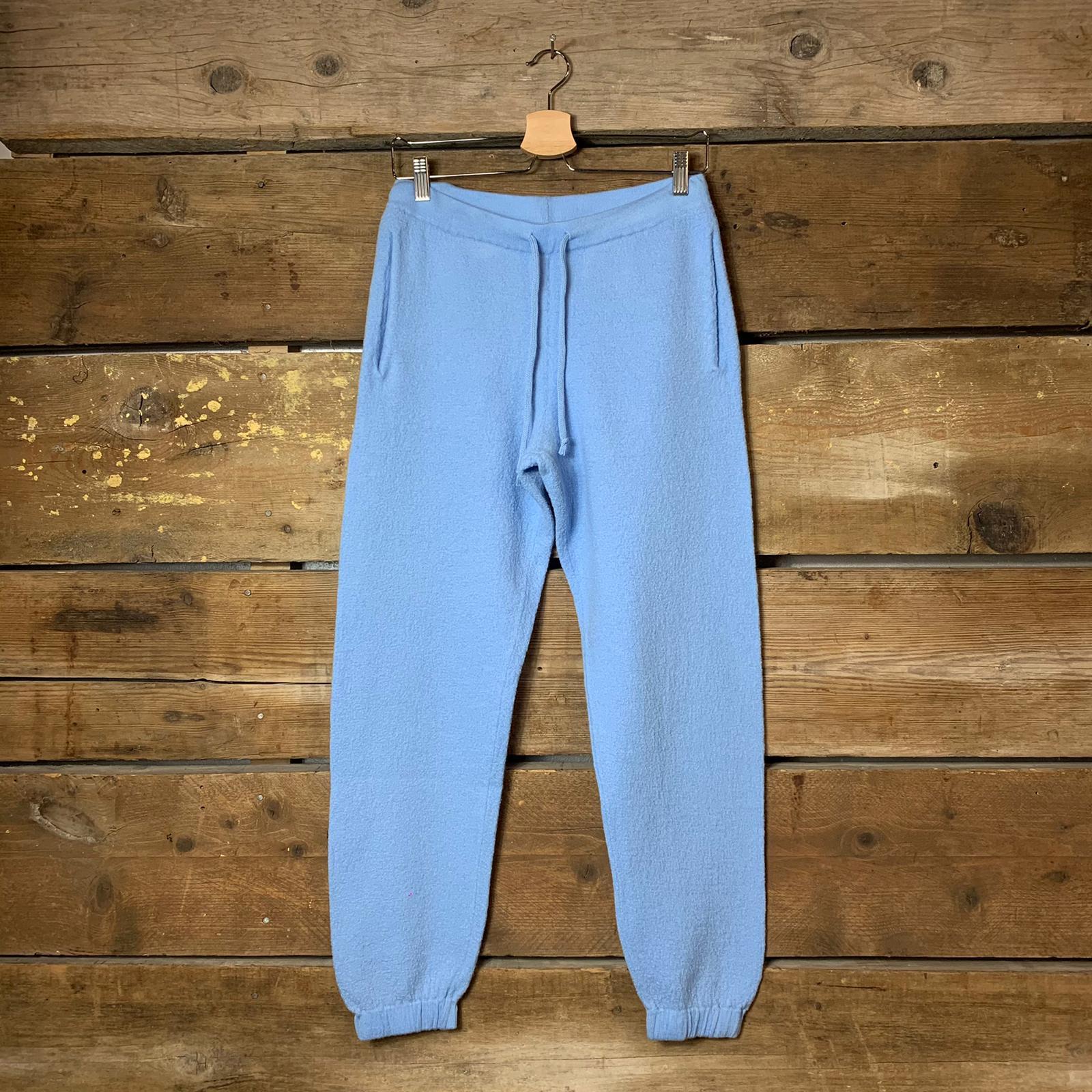 Pantalone American Vintage Jogger TadBow Ceruleo