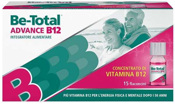 Be-total advance b12 15 flaconcini
