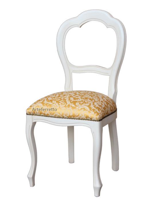 Klassischer Stuhl lackiert Arco