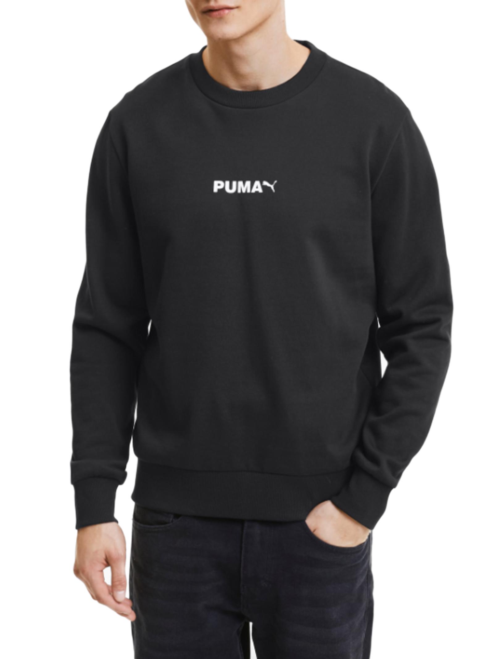 Puma Avenir Graphic Crew Felpa da Uomo