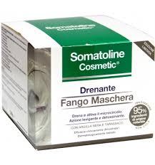 Somatoline Cosmetic Drenante Fango Maschera Azione levigante e detossificante 400ml