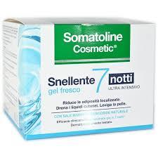 Somatoline Cosmetic Snellente 7 notti gel fresco 400ml