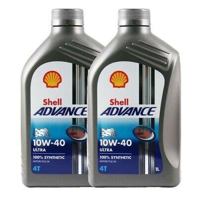 Shell Advance 4T Ultra 10w/40 2x1 litro
