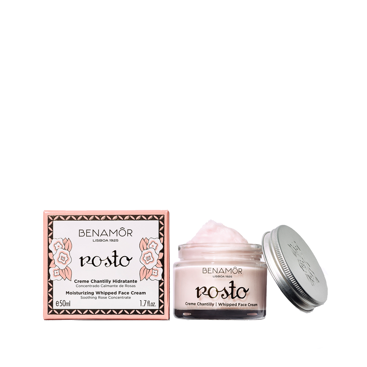 Créme de Rosto - Chantilly Face Cream