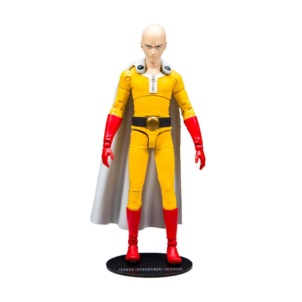 One Punch Man Action Figure: SAITAMA by McFarlane Toys