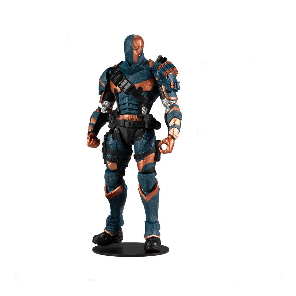 DC Gaming Arkham Knight Action Figure: DEATHSTROKE by McFarlane Toys