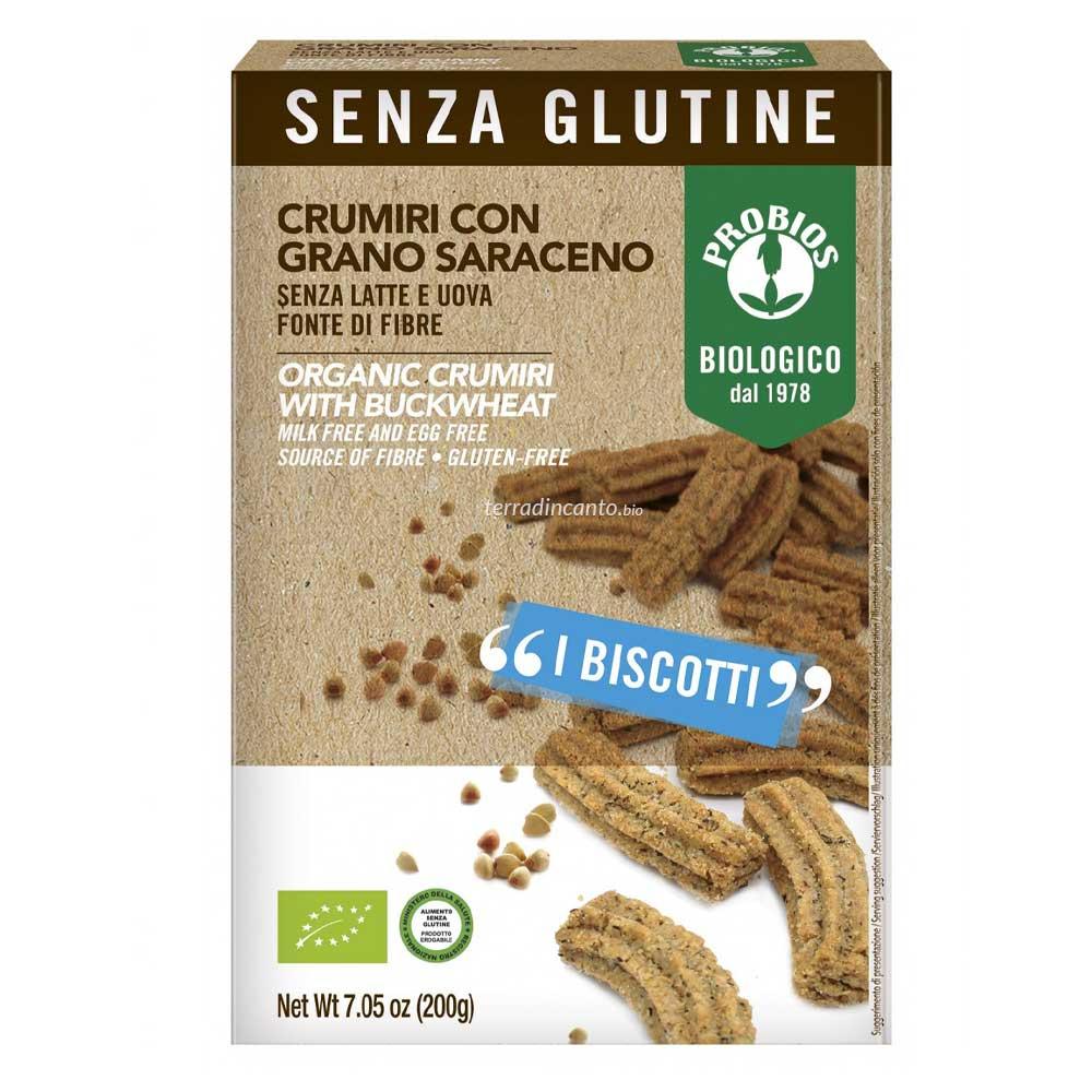 CRUMIRI CON GRANO SARACENO SENZA GLUTINE  200g  PROBIOS