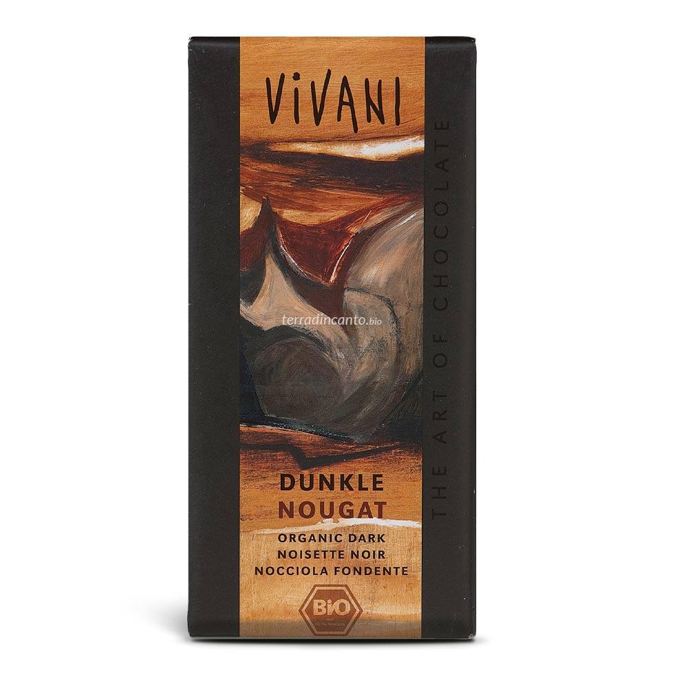 Cioccolato fondente alle nocciole Vivani