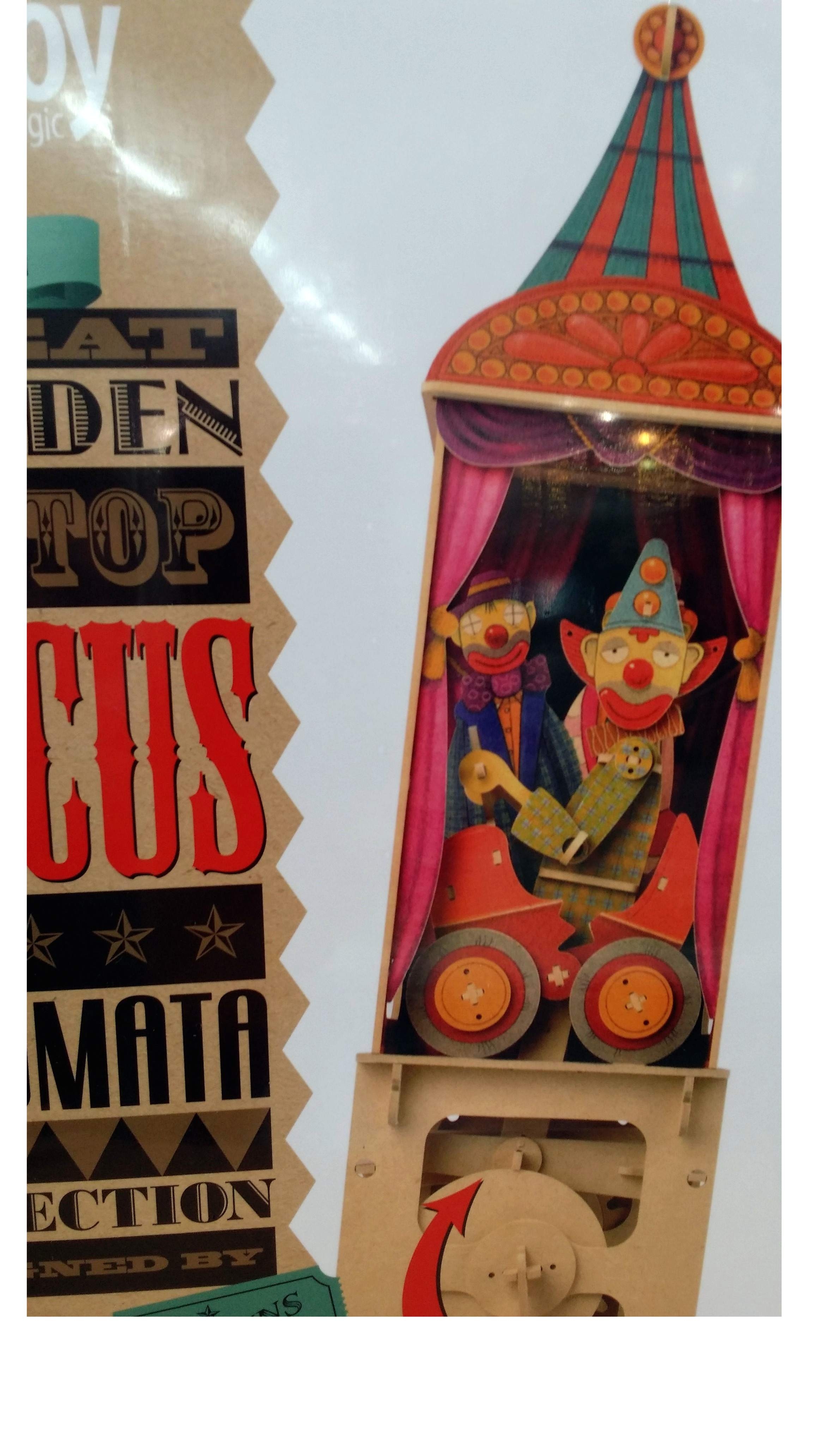 Puzzle 3D Clown del circo