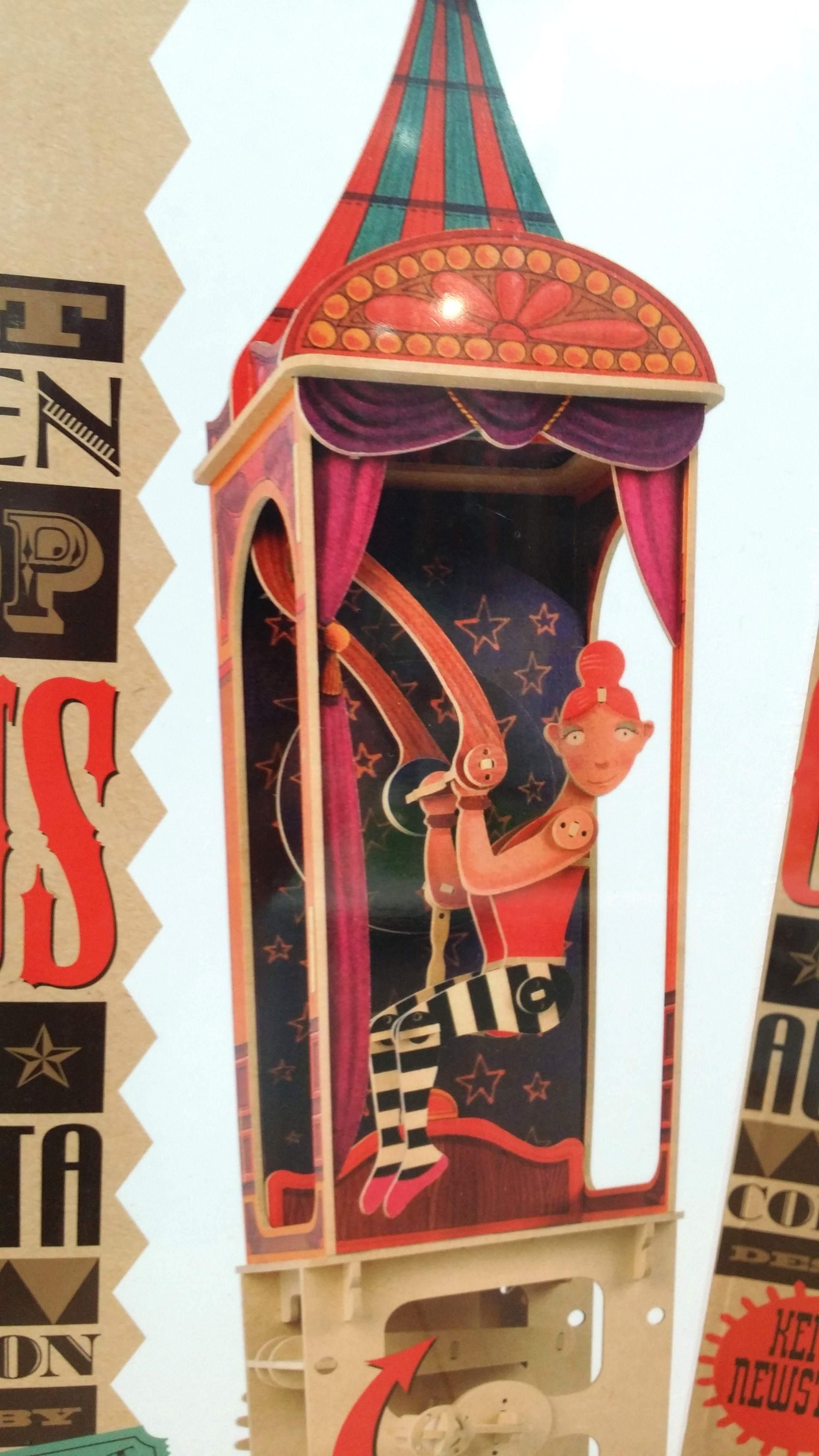 Puzzle 3D Acrobata del circo