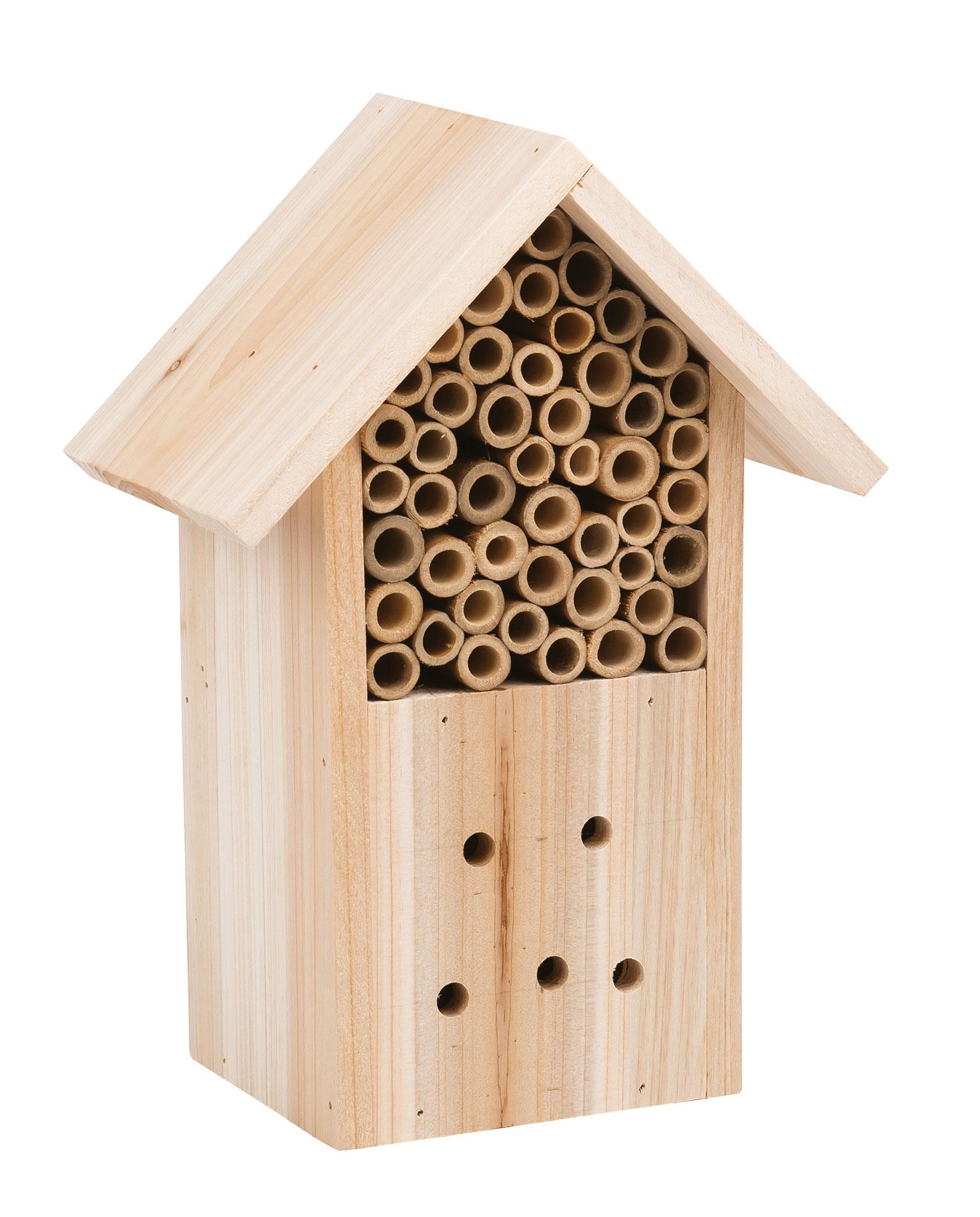 Casetta in legno per gli insetti