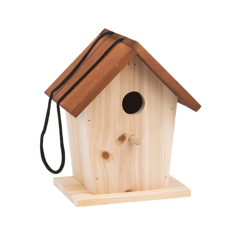Casetta in legno per gli uccellini