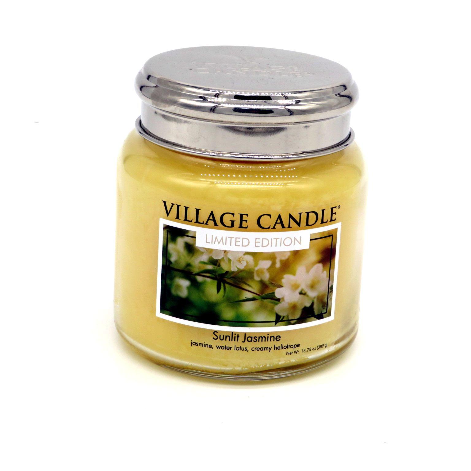 Candela Village Candle Sunlit Jasmine 105 ore