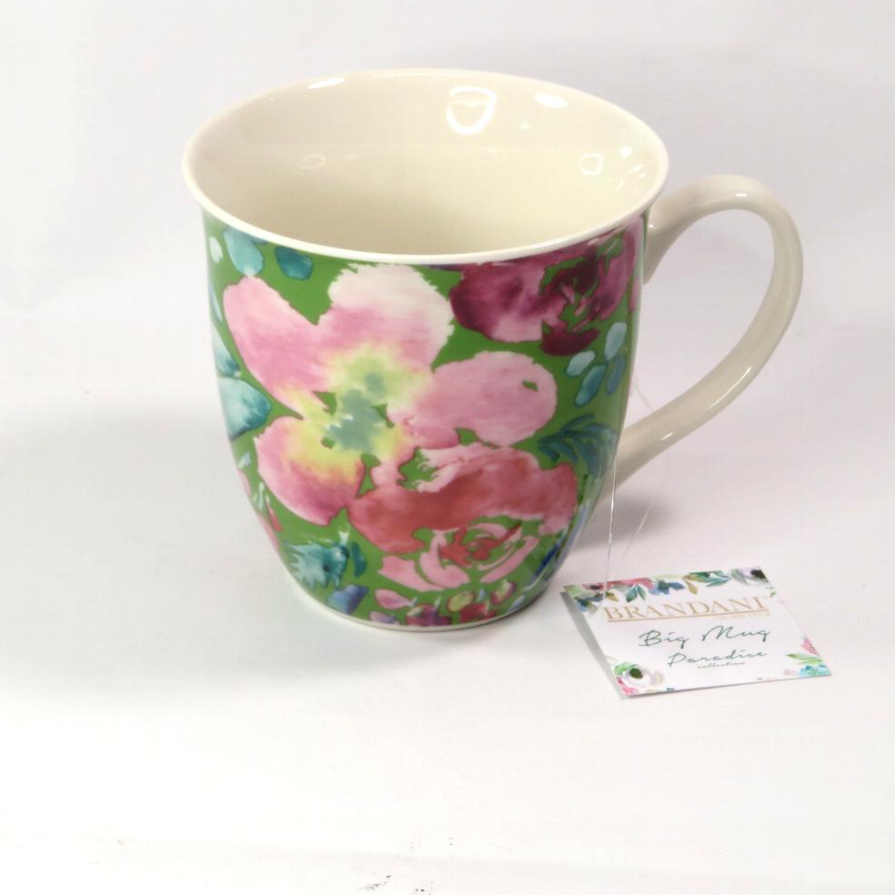 Tazza mug gigante fiori