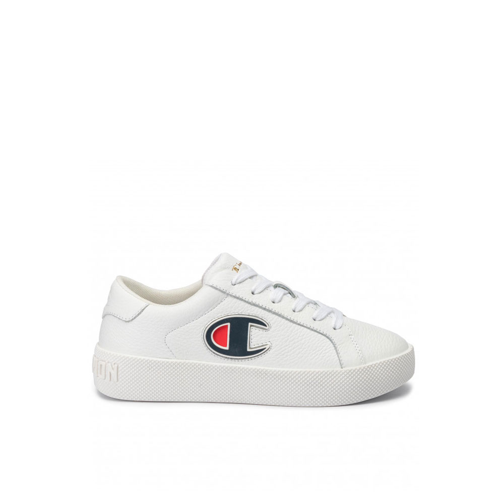 Champion Era Leather Bianca da Ragazzo