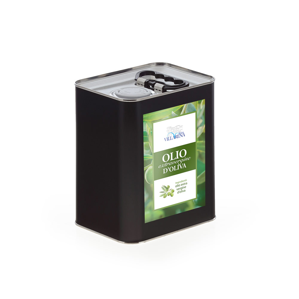 Extra virgin olive oil in can 3L