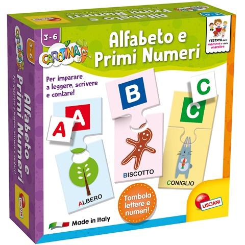 Alfabeto e Primi Numeri