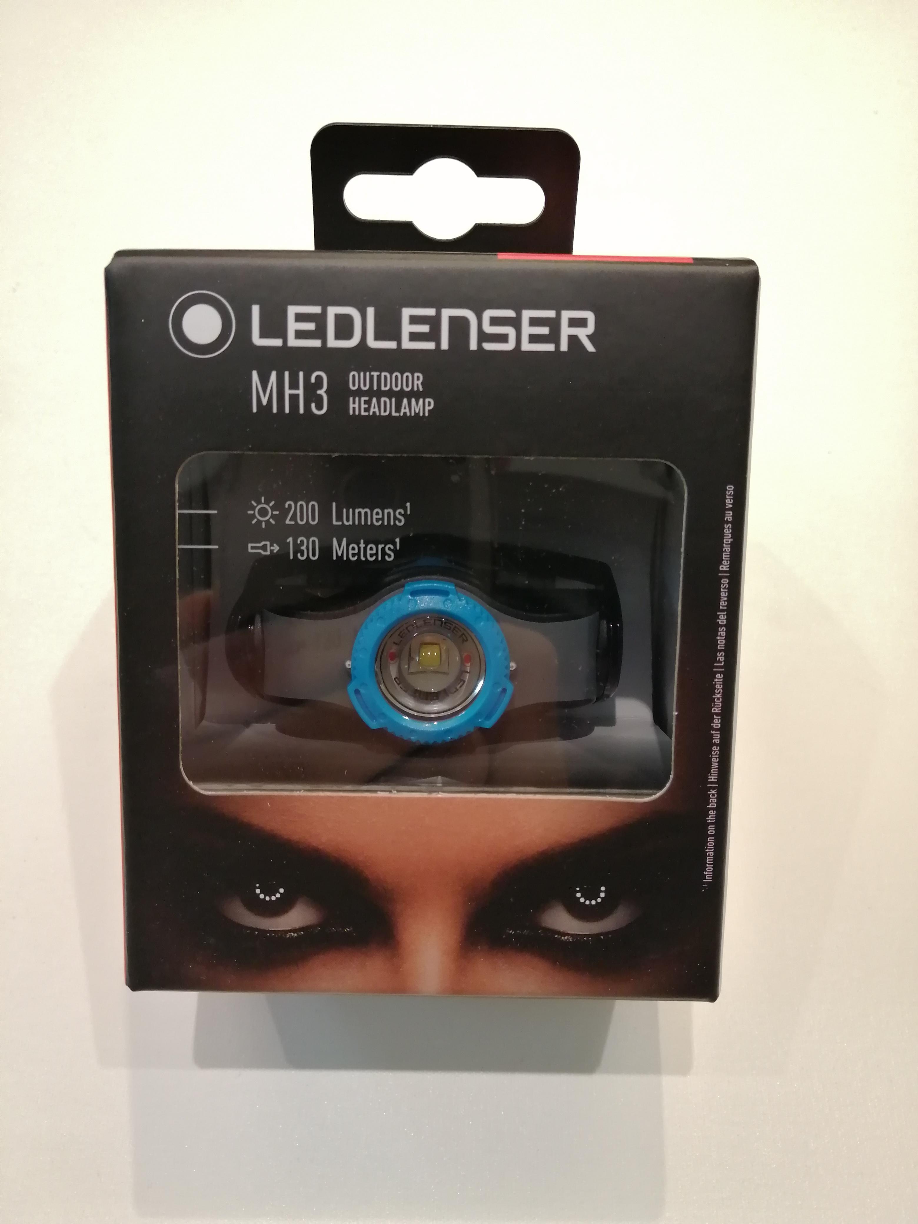 TORCIA LED LENSER MH3