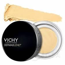 Vichy Dermablend Correttore Giallo Il correttore giallo copre le discromietendenti al blu, come capillari, occhiaie e lividi post-chirurgici.