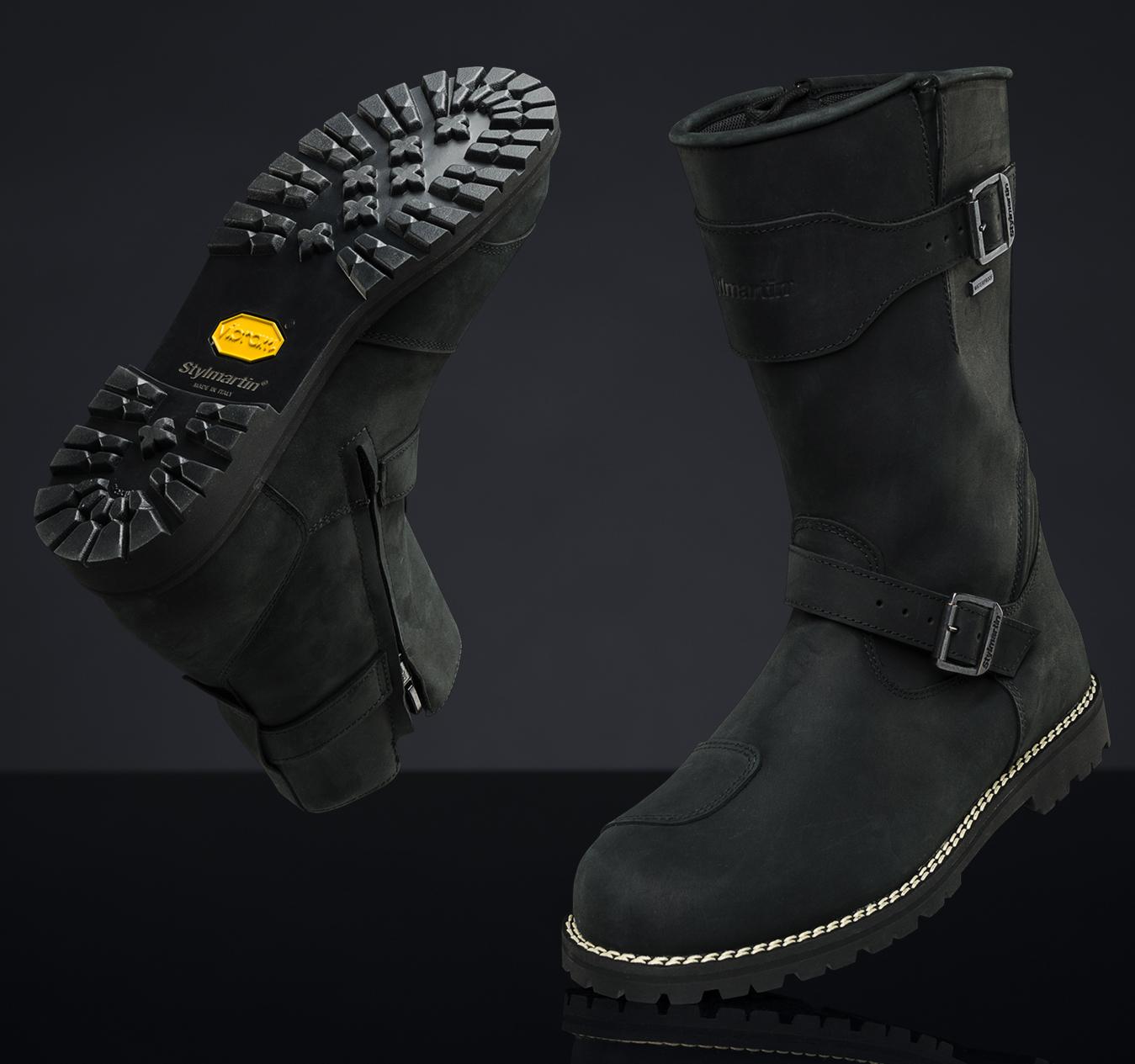 I nuovi stivali da moto turismo LEGEND EVO e MID WP Stylmartin sono online.