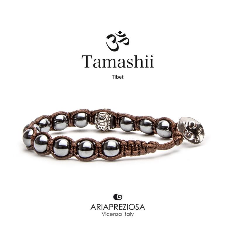Bracciale Tamashii Ruota Preghiera Ematite BHS1100-22