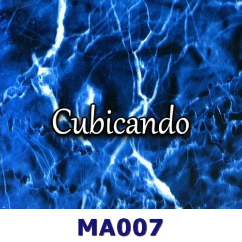 Pellicola per cubicatura effetto Marmo Blu