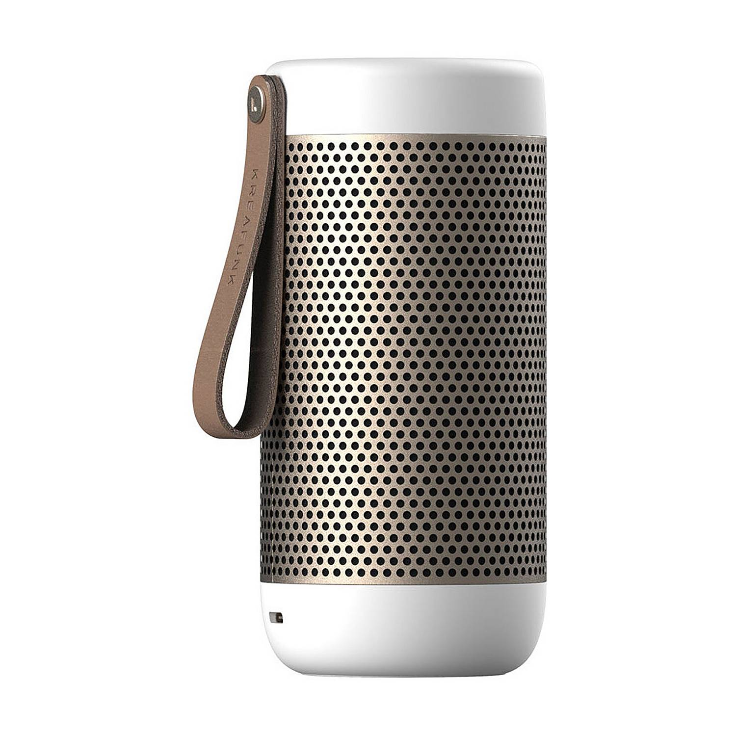 ACOUSTIC altoparlante bluetooth bianco by Kreafunk