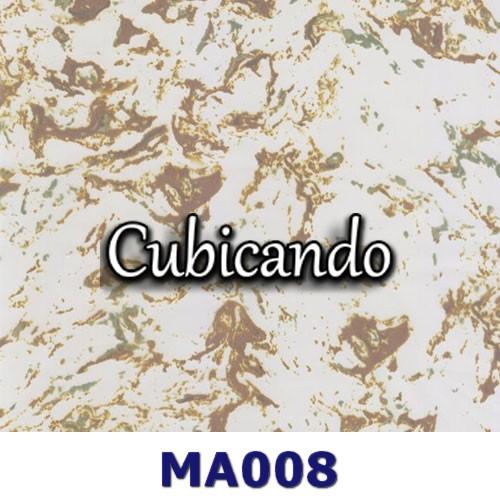 Pellicola per cubicatura effetto Marmo dorato