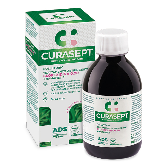 Curasept collutorio astringente 0,20 clorexidina 200ml