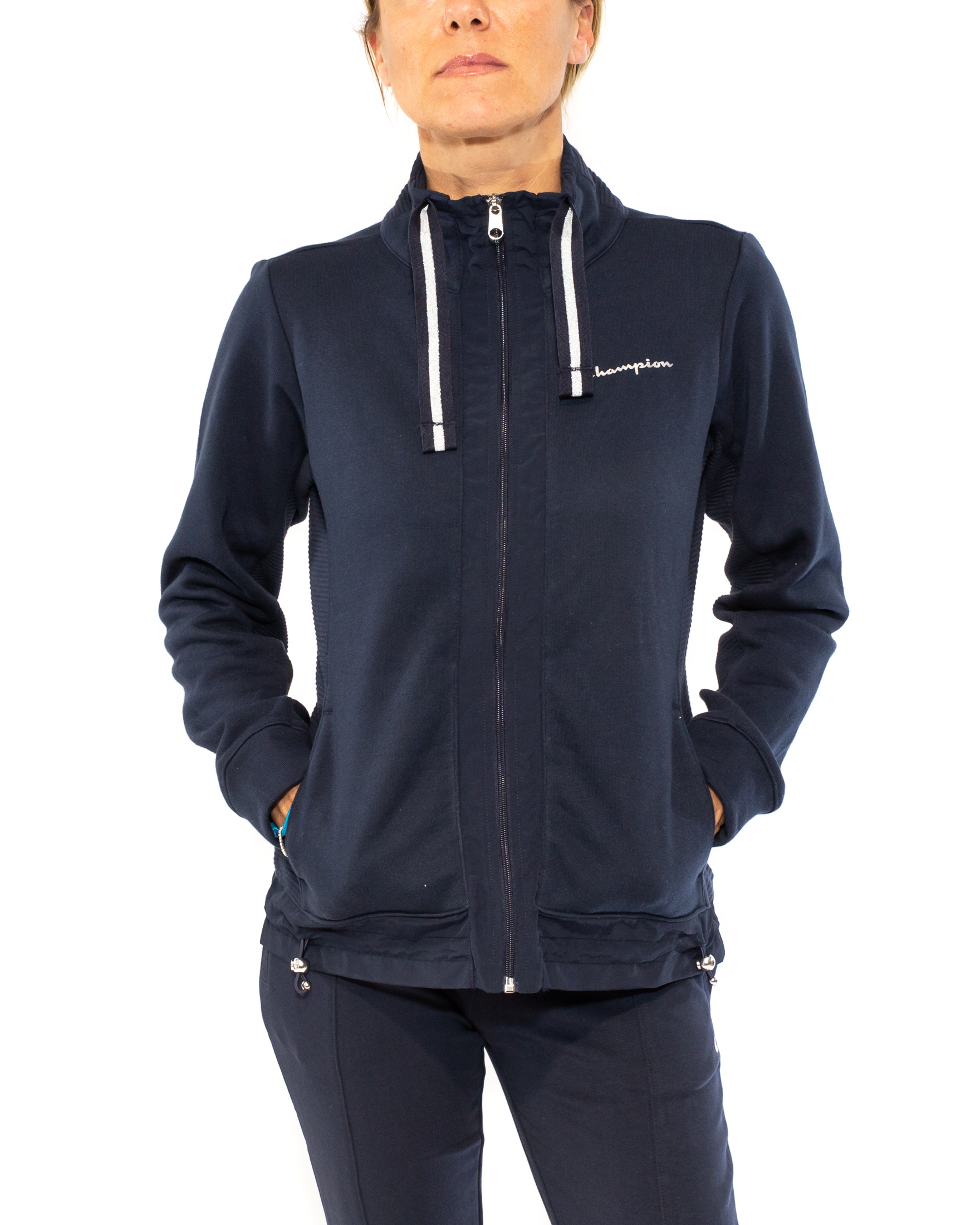 CHAMPION FELPA BASIC CON ZIP