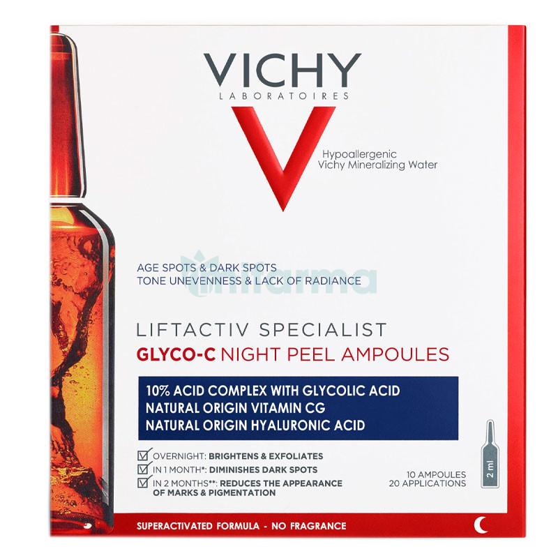 Vichy Liftactiv specialist Glyco-C- ampolle peeling notte con acido glicolico
