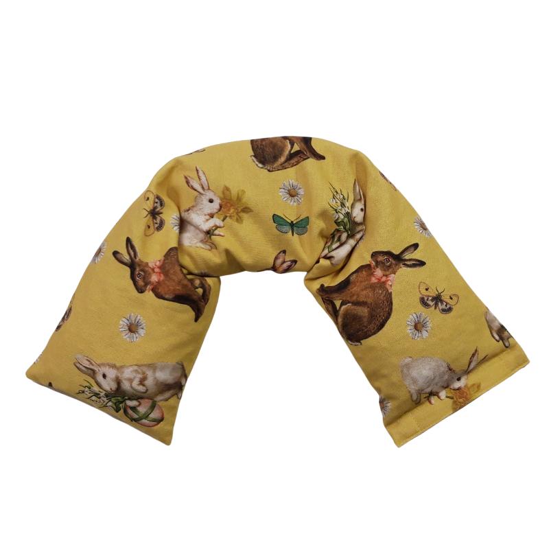 Cuscino a Fascia con Noccioli di Ciliegia Fantasia Coniglietto