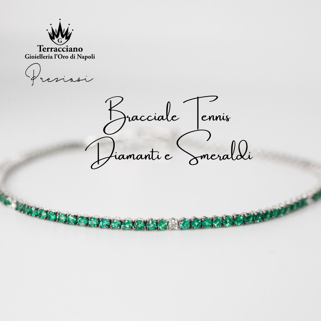 Tennis di Smeraldi e Diamanti