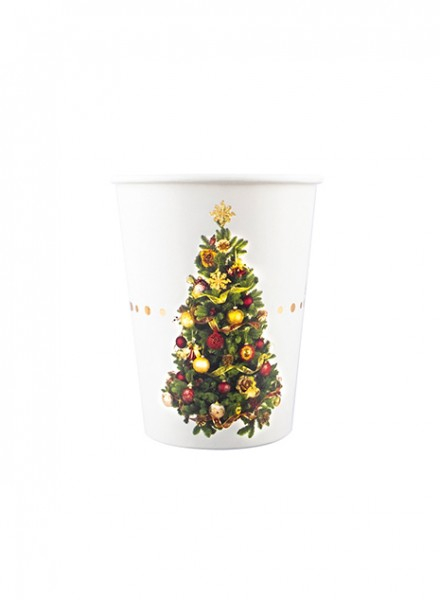 Bicchiere in cartoncino CHRISTMAS LIBERTY