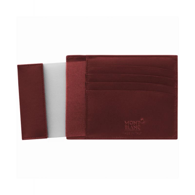 Portafoglio Custodia tascabile Montblanc Meisterstück con 4 scomparti e portadocumento