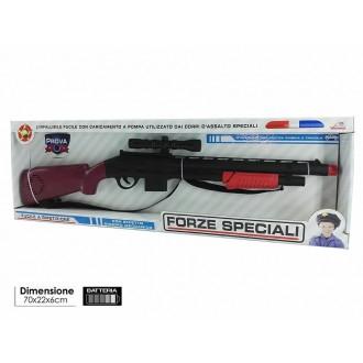 General Trade Forze Speciali Fucile Giocattolo con effetto Sonoro a ripetizioni per Bambini