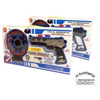 General Trade Set Pistola Con Bersaglio Blu Pistola per Bambini Giocattolo